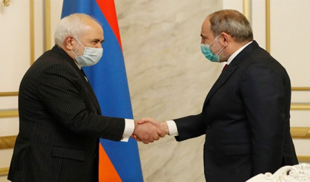 Iran, Armenia call for regional cooperation in post-war era