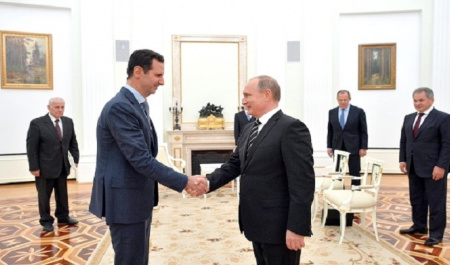 Messages of Bashar Assad's Visit to Moscow