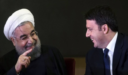 Interests of Tehran, Rome and Paris