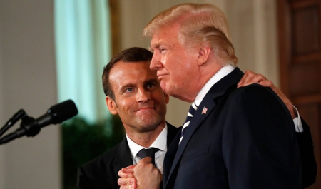 A contemplation on Trump's destabilizing suggestion to Macron