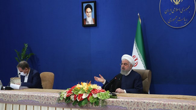 US can lift Iran sanctions in one hour if there is will: President Rouhani