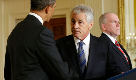 Hagel's Difficult Path