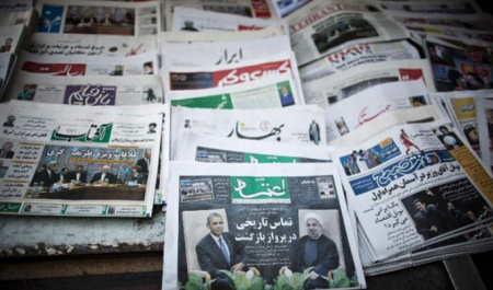 Iranian Newspapers, a Rough Sketch