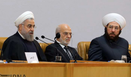 Rouhani calls for Muslim unity, denounces violence in name of Jihad