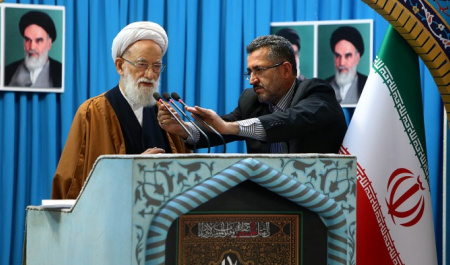 Friday Prayers across Iran: Denunciation of the United States