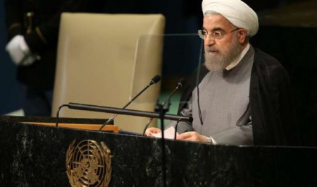 Rouhani's rational speech at UN dwarfed offensive Trump