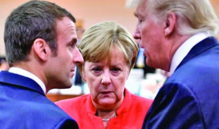 Macron Tries to Complete Trump's Project