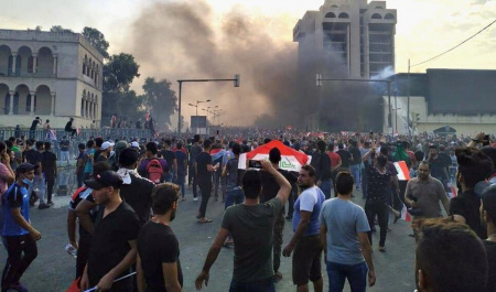 Iraqi protests, spontaneous or conspiracy?