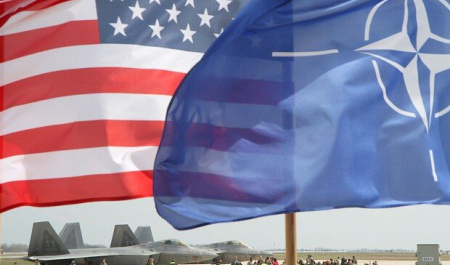 Continuous presence under the banner of NATO: A new American trick for survival